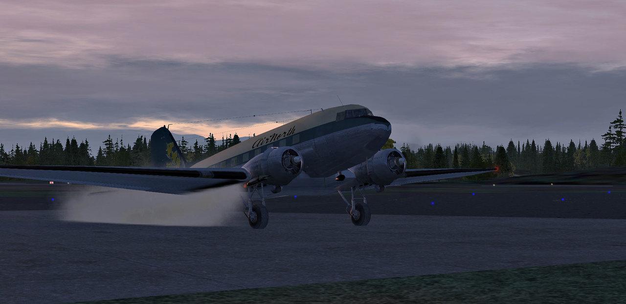 ASS - seit langem mal wieder mit der DC-3 34321704mx