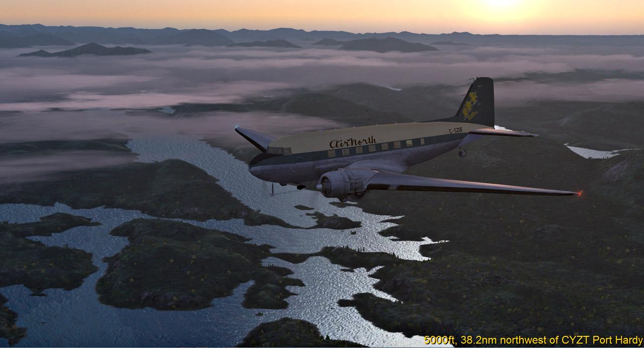 ASS - seit langem mal wieder mit der DC-3 34321707kx