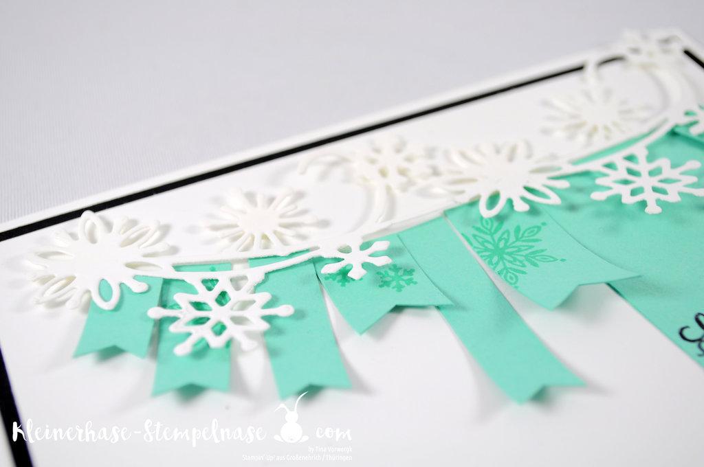 Stampin Up Flockengestöber Schneeflocken Wintermärchen Weihnachten