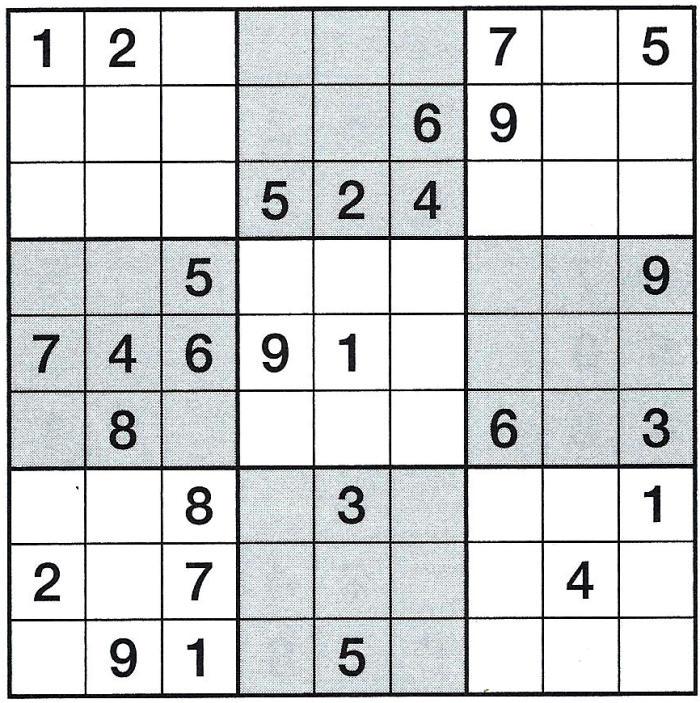 Daddy 0340:Sudoku >>>GEL.VON MILKA 34534792gn