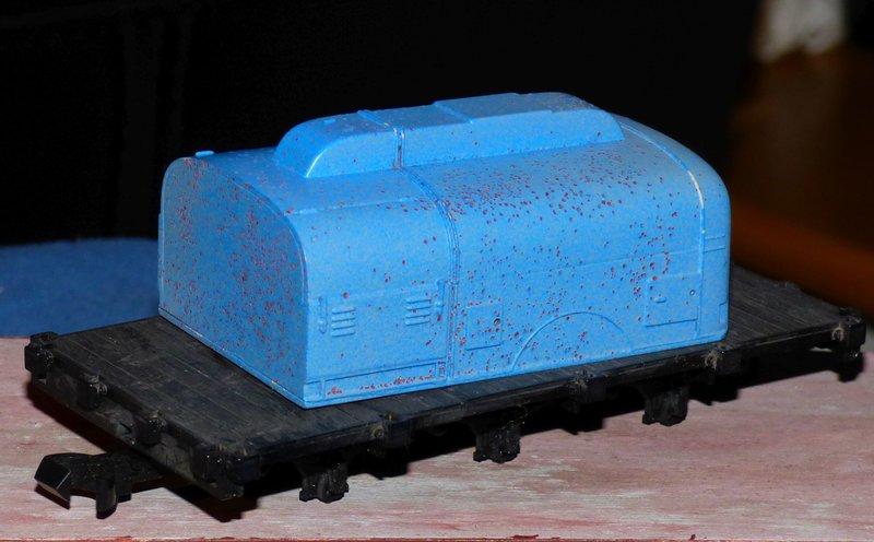 Ein Diorama mit Tanklager 34552385fq