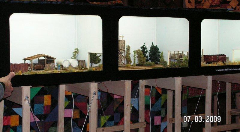 Ein Diorama mit Tanklager 34552386md