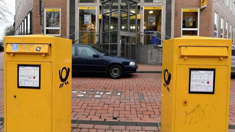 немецкая почта Deutsche Post