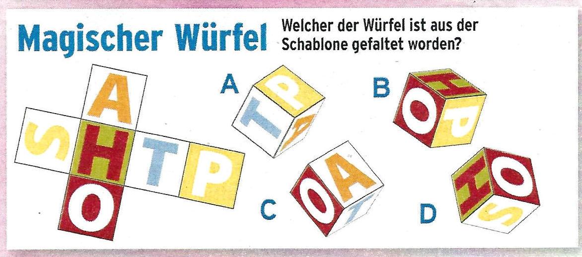 Daddy 0345:Magischer Würfel>>>GEL.VON WERNER 34582022nd