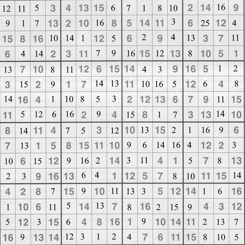 Werner 0187 Sudoku groß>>gelöst von Daddy 34696018lx