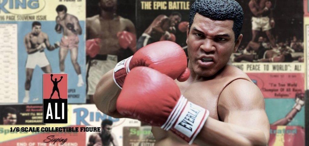 Muhammed Ali Actionfigur