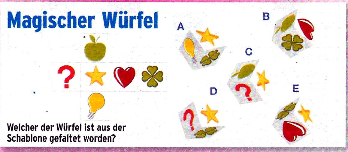 Daddy 0036:Magischer Würfel>>>GEL.VON WERNER 34762719yd