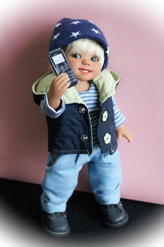 Julius a un téléphone portable 34816154ha