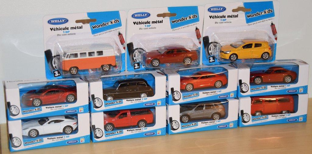 Modèles Miniatures de Welly