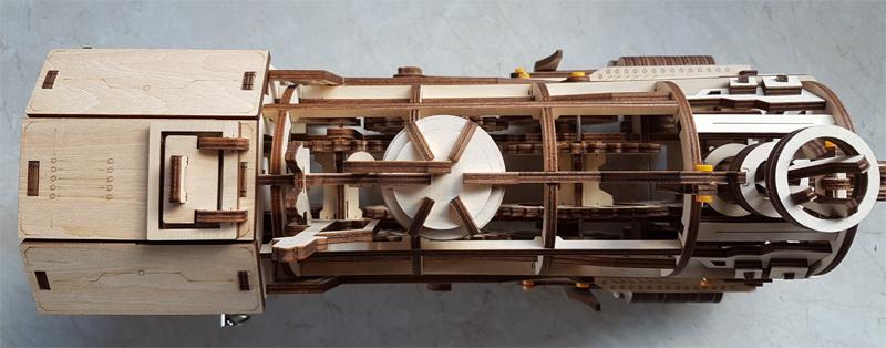3D-Lokomotivbausatz von ROKR 34989460to