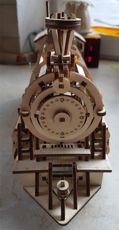 3D-Lokomotivbausatz von ROKR 34989467qy