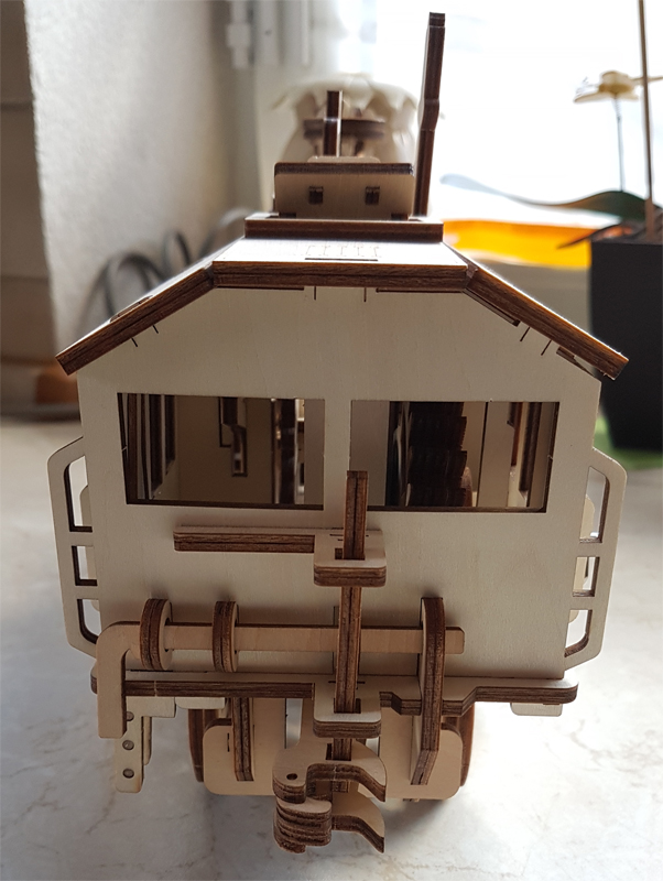 3D-Lokomotivbausatz von ROKR 34989469be