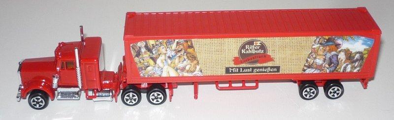 N°604 Kenworth W900 + Semi Container 35121161ew