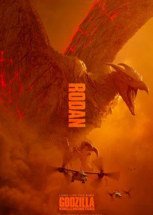Godzilla Actionfigur Rodan