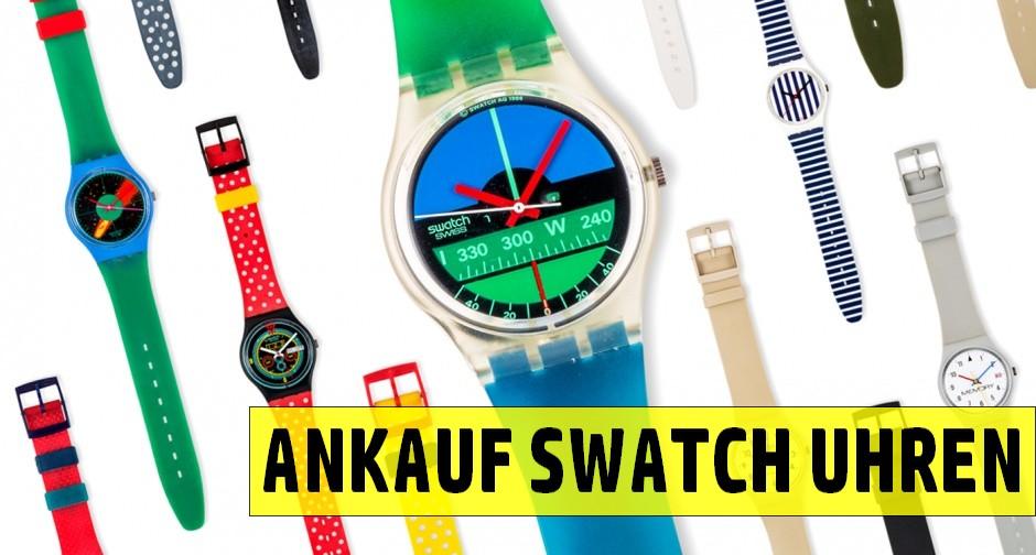Ankauf von Swatch Uhren und Sammlungen