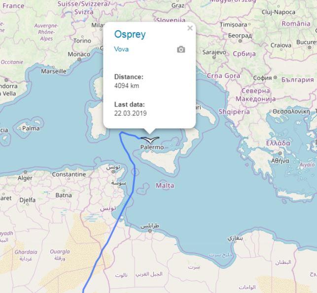 Migration Map - Page 94 - Looduskalender