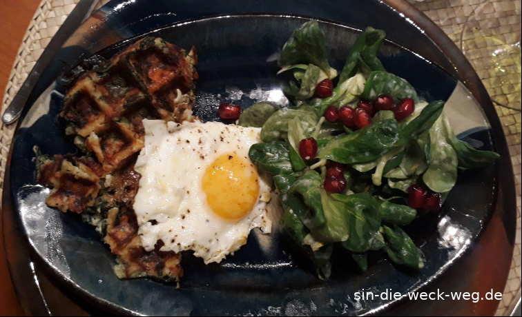 Nachgekocht: Kartoffelwaffeln und Co.