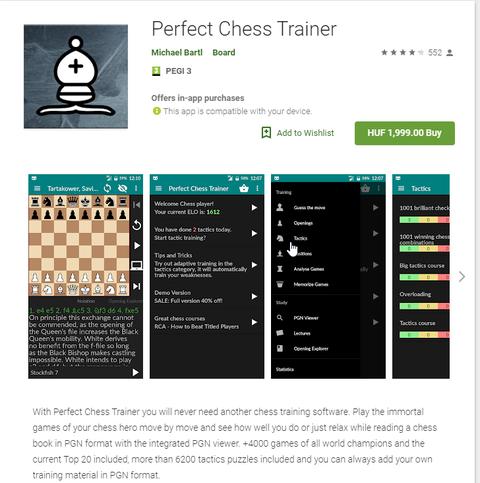 Perfect Chess Trainer 35469526cs
