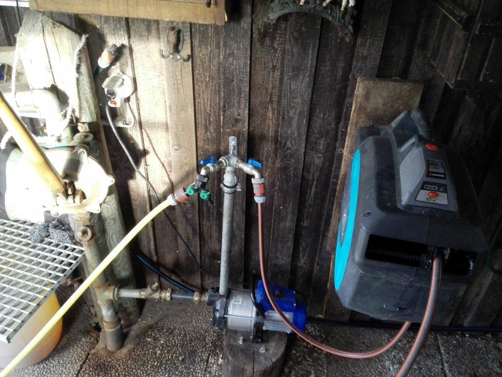 Gut gemocht Druckschalter für eine kleine Kreiselpumpe - Brunnen-Forum.de ZY68