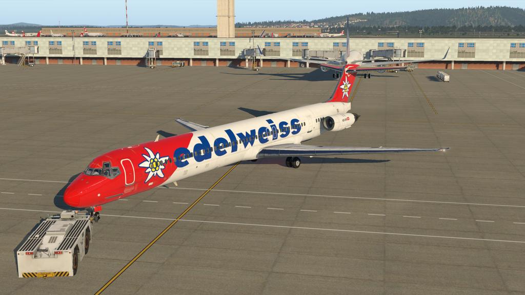 Mit der MD ( Rotate ), der HB-IKM, auf nach Lugano 35766874bw