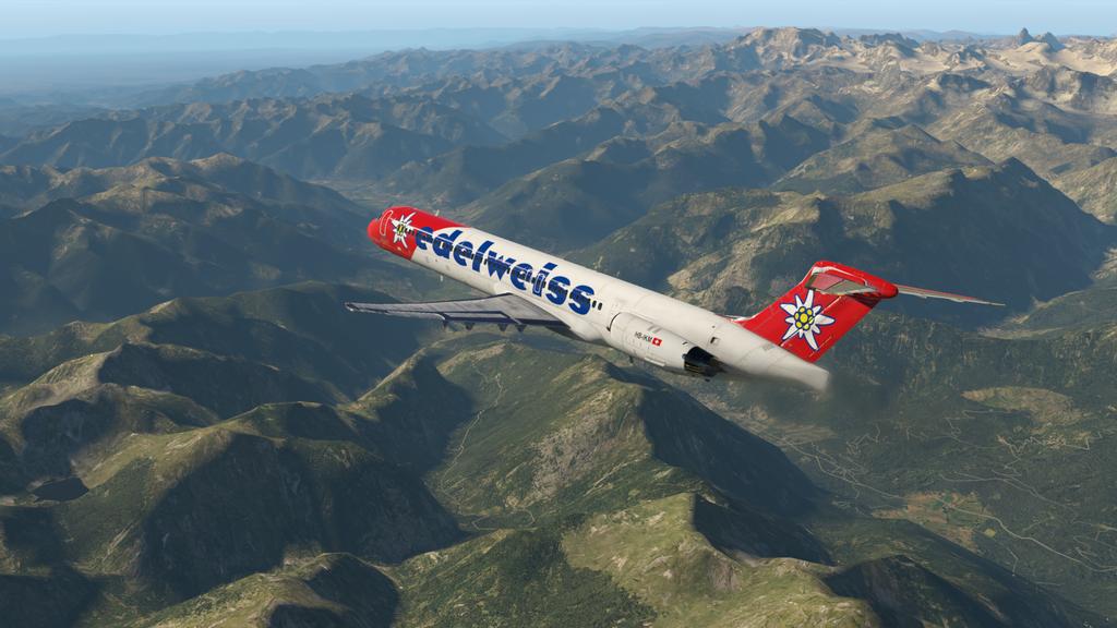 Mit der MD ( Rotate ), der HB-IKM, auf nach Lugano 35766892xj