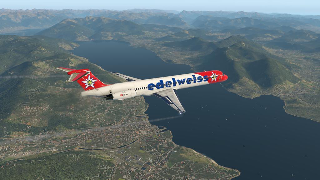 Mit der MD ( Rotate ), der HB-IKM, auf nach Lugano 35766895be