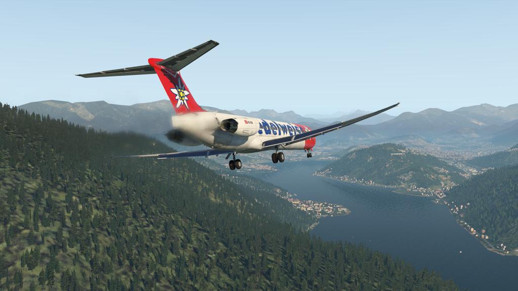 Mit der MD ( Rotate ), der HB-IKM, auf nach Lugano 35766899il