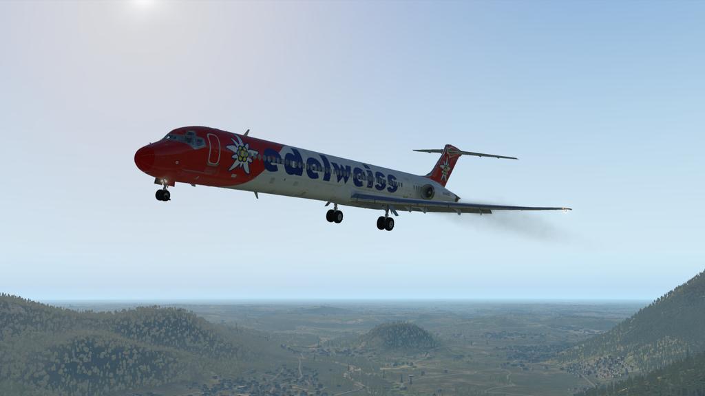 Mit der MD ( Rotate ), der HB-IKM, auf nach Lugano 35766900gu