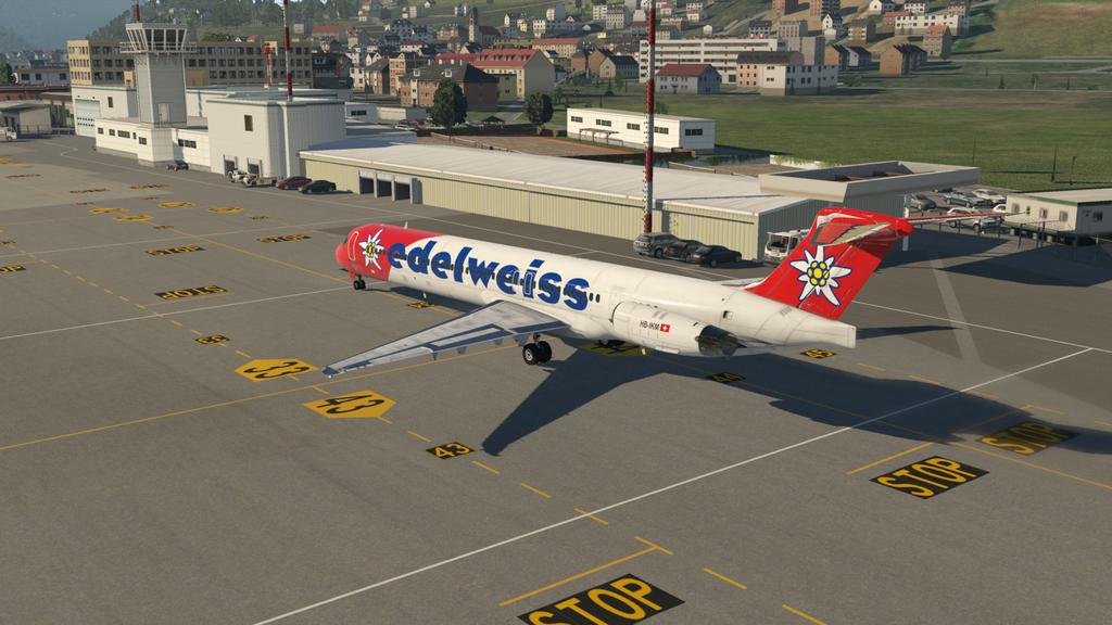 Mit der MD ( Rotate ), der HB-IKM, auf nach Lugano 35766905at