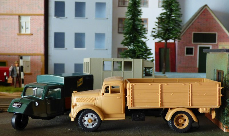 Tamiya German 3ton 4x2 Cargotruck 1/48 - Fertig 35835574zd