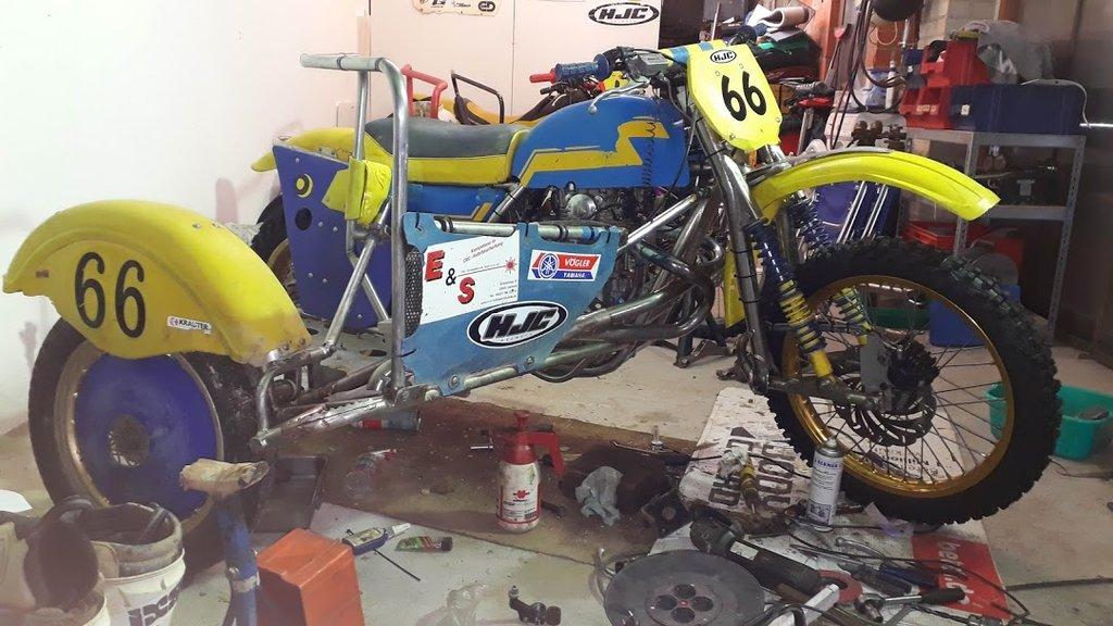 Die Blaue Wasp Yamaha Bj. 1981 35840787ya