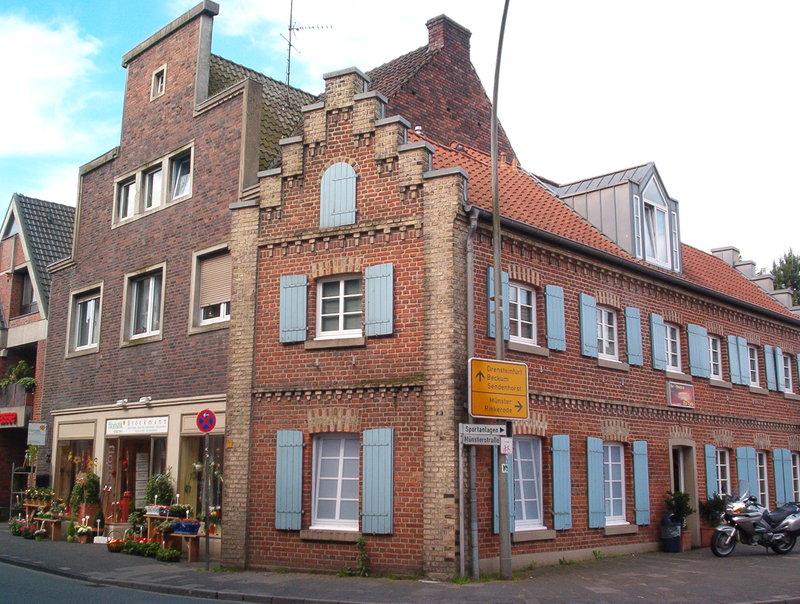 Wilamo - Häuserkulissen 1/45 kpl Strassenzeile - Baubericht 35894657zf