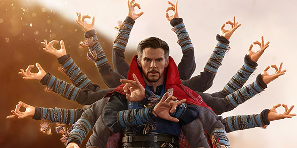 Doctor Strange Thousand hands