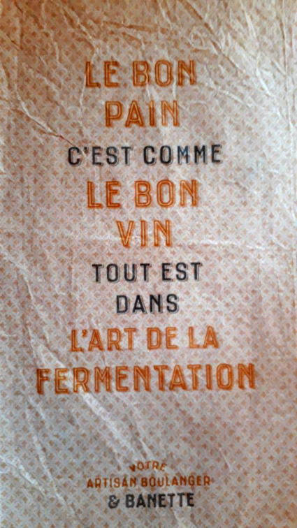 Du Vin - du Pain - Fermentation...