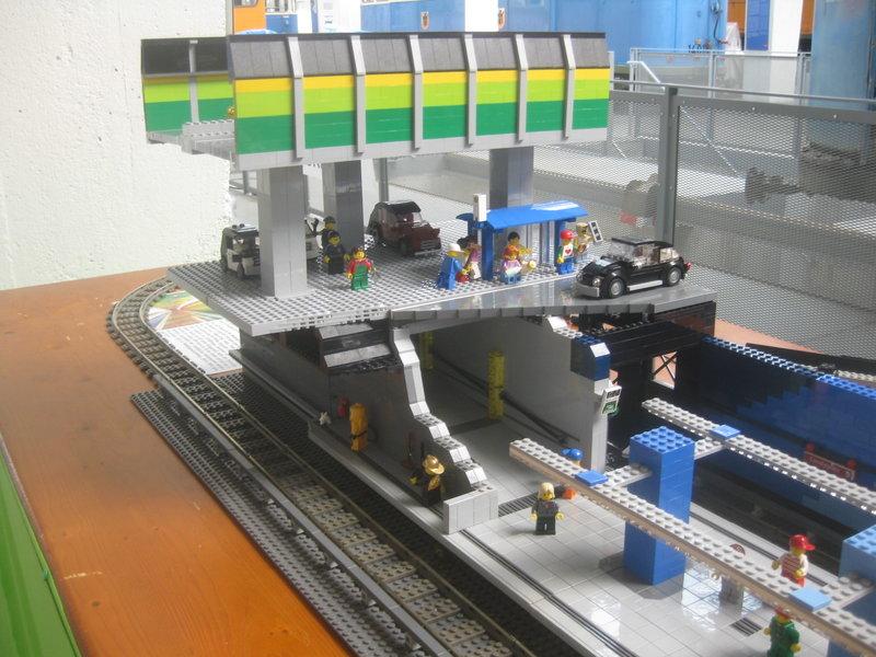 Lego-U-Bahn-Spielanlage 36001500lu