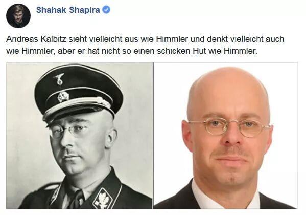 AFD schickt eine Unterlassungserklärung an die Linke weil Sie Kalbitz als  einen Neonazi bezeichnen. : de