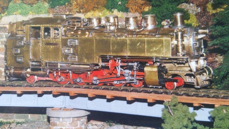 Märklin Minex Dampflok - Umbau in eine Gleichstromlok in 1/45 - Spur 0e 36456496hu