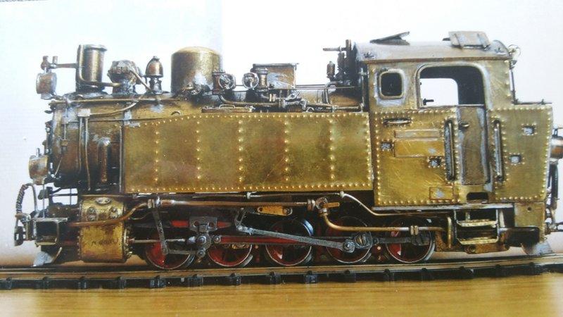 Märklin Minex Dampflok - Umbau in eine Gleichstromlok in 1/45 - Spur 0e 36456497bs