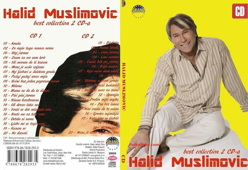 Halid Muslimovic 2010 - Best Collection 2 CD-a 36606749th