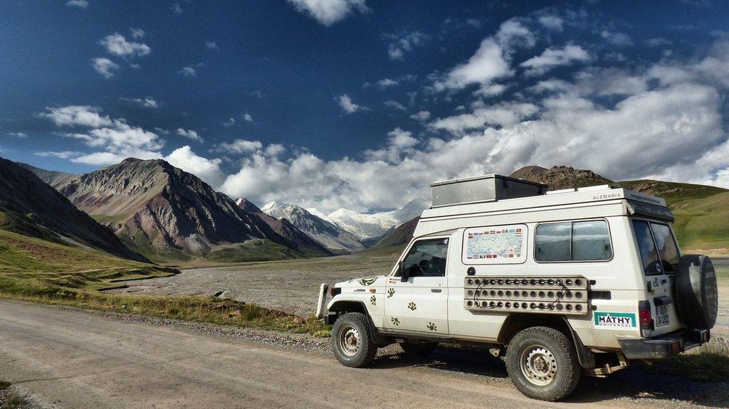 im Pamir-Gebirge