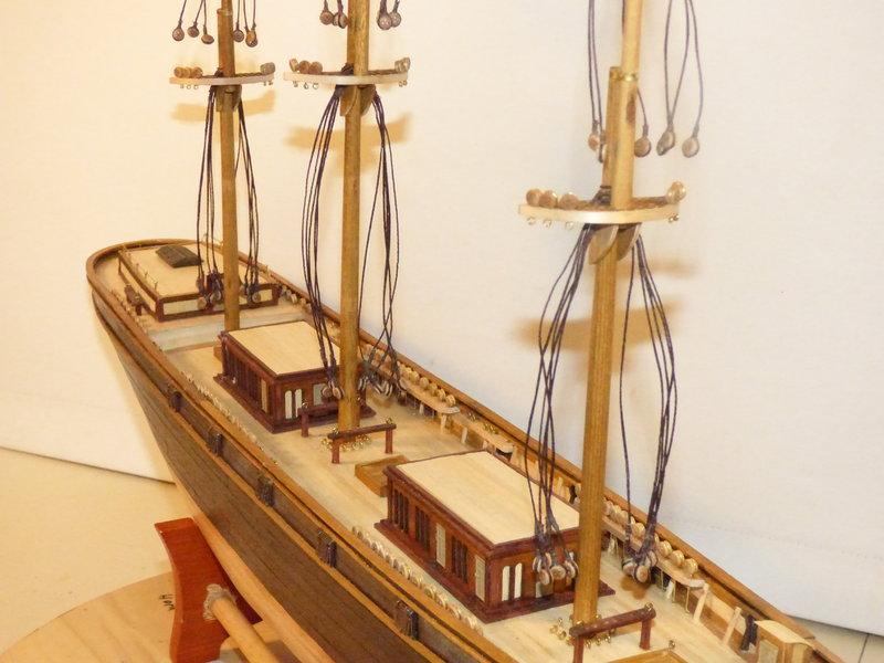 Meine Cutty Sark von delPrado wird gebaut - Seite 5 36734740ow