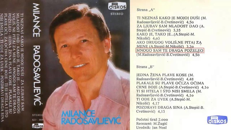 Milance Radosavljevic - Kolekcija 36749308ay
