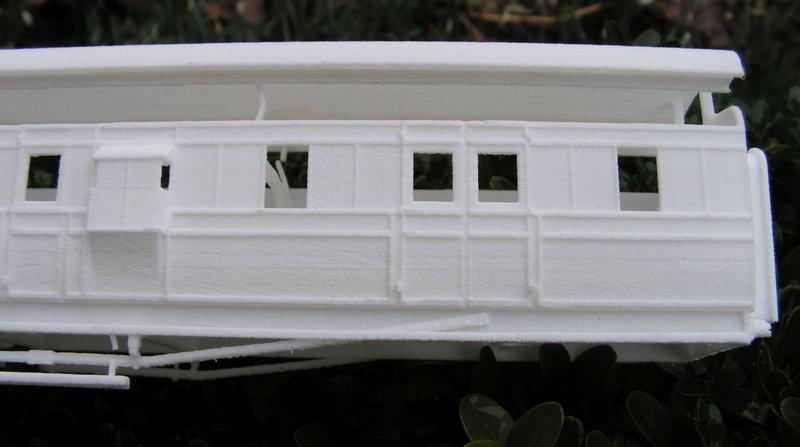 Kleiner Schienenbus im 3D Druck, 0n30 - Fertig 36840057nz