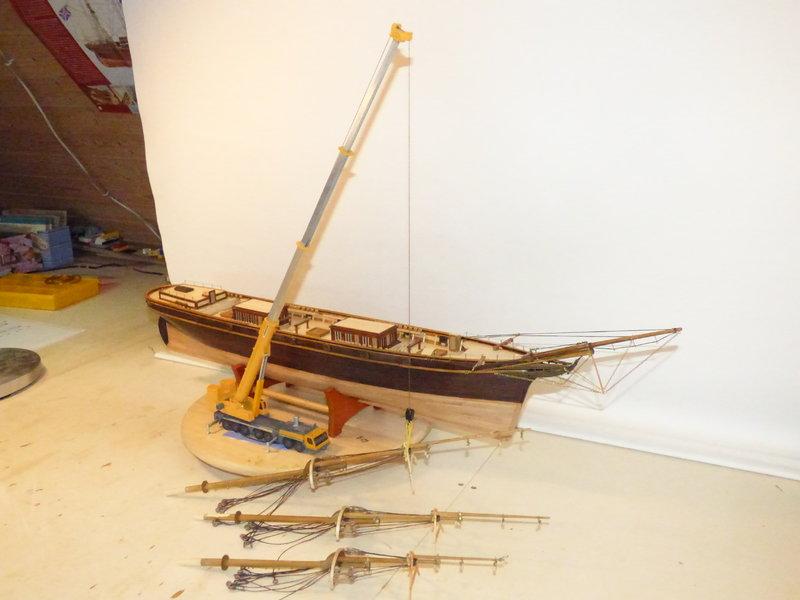 Meine Cutty Sark von delPrado wird gebaut - Seite 5 36886948xt
