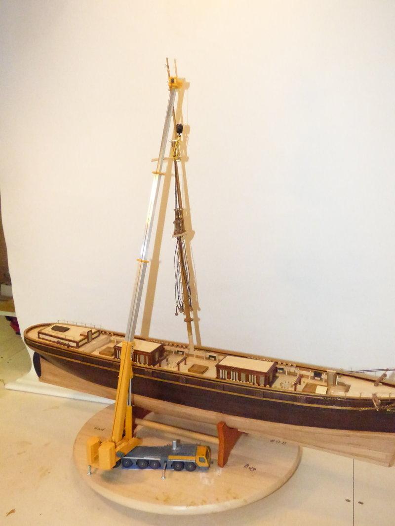 Meine Cutty Sark von delPrado wird gebaut - Seite 5 36886951vd