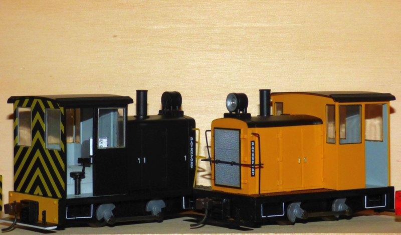 Davenport Diesellok 1:25 Swiat z Kartonu 36897700ir