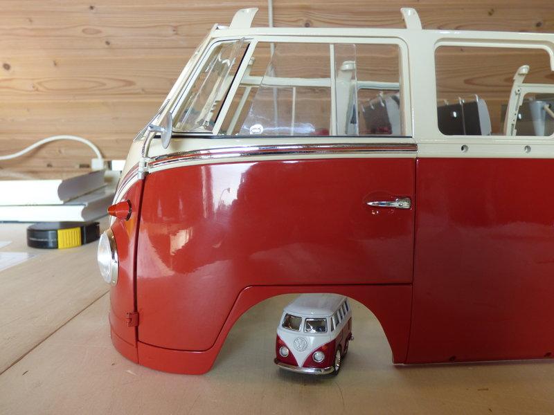 VW T1 Samba 1:8 Sammelbausatz DeAgostini ge. von rmo554 - Seite 2 37094438uq