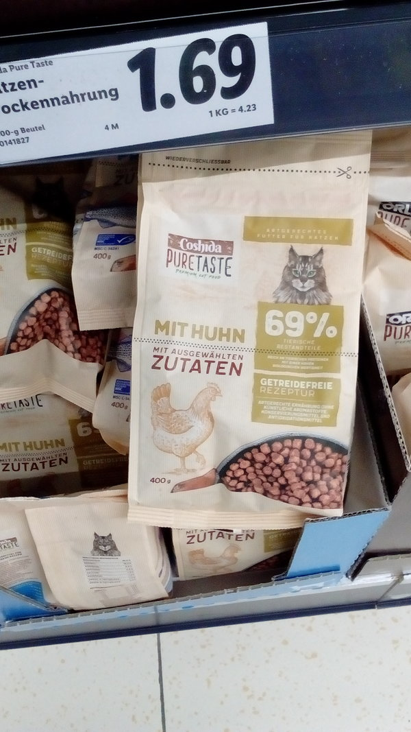 Coshida Pure Taste Getreidefrei Lidl Trockenfutter