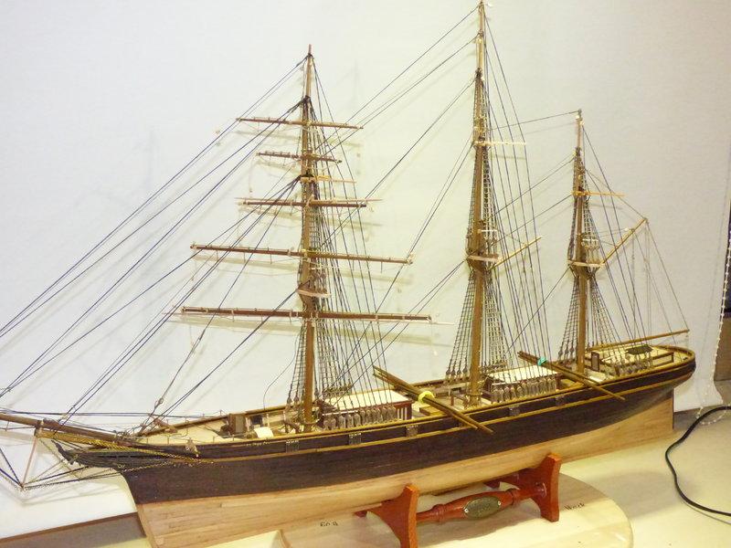 Meine Cutty Sark von delPrado wird gebaut - Seite 7 37334092wu