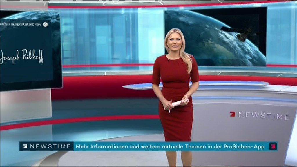 Leslie moderatorin pro7 newstime Fernsehmoderator ProSieben